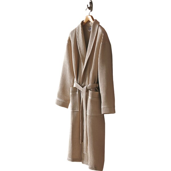 Pique 100% Cotton Bathrobe by Daisy House